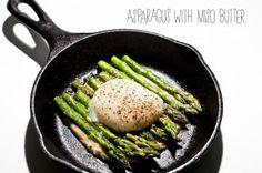 Asparagus with Miso Butter | iamfoodblog.com