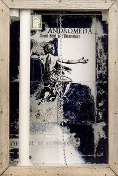 Andromeda: Grand Hôtel de l'Observatoire,1954, by Joseph Cornell (via the Guggenheim Museum) #surrealism #americanart #collage