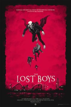 The Lost Boys - Alternative horror posters