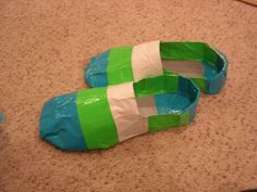 duct tape shoes - making these for duct tape day at school :)