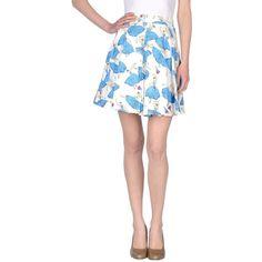 Kling Knee Length Skirt ($50) ❤ liked on Polyvore
