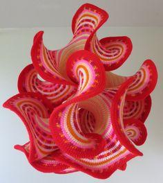 Gabriele Meyer   Mathematical Art Galleries - Hyperbolic Crochet Sculpture