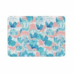 Buy a unique Bath Mat printed with Mermaid Skin designed by Danii Pollehn. Check out other Bath Mats or more home decor and accents with thousands of creative designs! New artwork added daily! Free shipping on orders over $100. Mickey Bathroom, Mermaid Skin, Pink Painting, Creative Design, Memory Foam, Bath Mats, Unique, Artwork, Prints