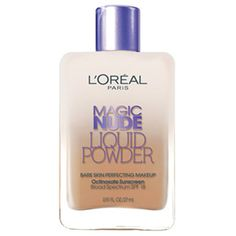 Haven't found SPF in Canada yet. Am absolutely not a make up girls but <3 Magic Nude Liquid Powder Bare Skin Perfecting Makeup Foundation By L'Oreal Paris