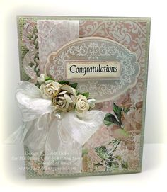 stamp simply ribbon store | 12 Congratulations with wm
