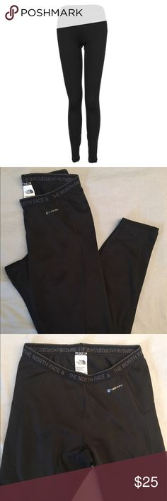 NWOT North face women's warm tights NWOT! The North Face Women's Warm Tight. This midweight baselayer bottom features the new, innovative FlashDry technology that wicks and dries at lightning-fast speed  Nylon, polyester, and elastane fabric Form-fitting Reflectivity North Face Pants Leggings