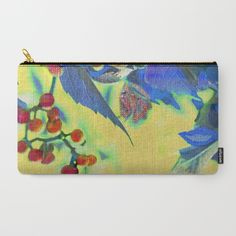 Floral patchwork(8). Carry-All Pouch