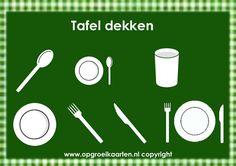 Beloningskaart aan tafel zitten - gratisbeloningskaart.nl