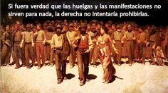 """Las huelgas que """"no sirven"""""""