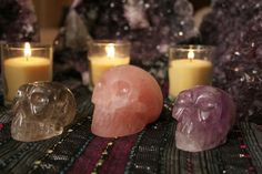 Ancestors Crystal Resin, Resins, Tea Lights, Rocks, Candles, Crystals, Tea Light Candles, Candy, Crystal