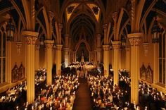 Basílica del Sagrado Corazón - Universidad de Notre Dame, Indiana
