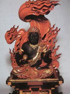 不動明王 Fudō Myō-oh (Sanskrit : Achala)