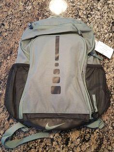 ad72abcc0b31 Nike Hoops Elite Varsity Backpack Clay Green Black BA5355 365 Book Bag  Nike   Backpack
