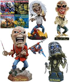 IRON MAIDEN- I want ALL the Eddies!