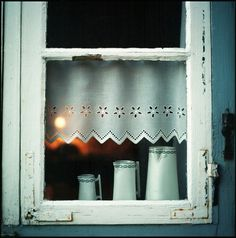 A cada fim de tarde um espetáculo por entre a vidraça!