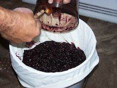 Man That Stuff Is Good!: Homemade Blackberry Wine, Part I. Follow our blackberry wine making process!