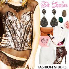 Lingerie fashion aparente #dechelles #moda vendas@dechelles.com.br https://www.facebook.com/dechellesfanpage