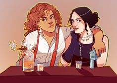 kelslk:  but what about an Amerikate 1920s bonnie and clyde/ thelma and louise/ crime au though