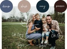Family Photoshoot Style Guide - - Plan your family photo outfits easily with this style guide of tips and tricks. Fall Family Picture Outfits, Family Picture Colors, Family Portrait Outfits, Family Photos What To Wear, Summer Family Pictures, Winter Family Photos, Large Family Photos, Fall Family Portraits, Family Picture Poses