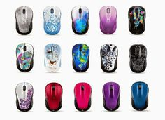 Logitech wireless mouse Color Collection 2014