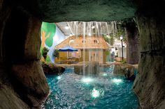 Inventionland's Pittsburgh headquarters might take the cake for the most fun, inspiring, creative and crazy office I've seen so far. Their 'office' includes castles, tree-houses, a massive pirate battle ship, a cave/kitchen, trees, lakes, waterfalls…
