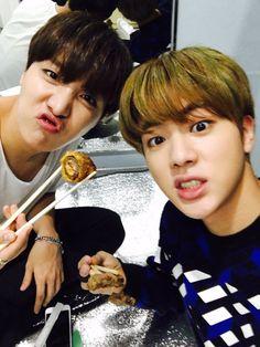 J-Hope and Jin