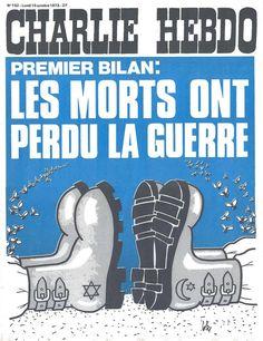 Charlie Hebdo - # 152 - 15 Octobre 1973 - Couverture : Gébé