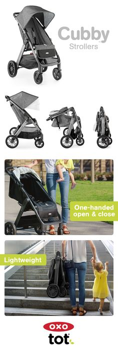 We interviewed a thousand parents to learn what they love about their strollers… and what drives them nuts. From storage space to one-handed fold and unfold, the lightweight Cubby Stroller is designed to solve parenting pet peeves.
