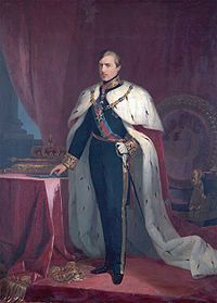 Pedro V (1837 - 1861). King of Portugal from 1853 to his death in 1861. He married Stephanie of Hohenzollern-Sigmaringen, but had no children.