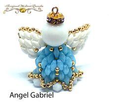 Angel Gabriel PDF Beading tutorial in von RosinaOttoliniBeads