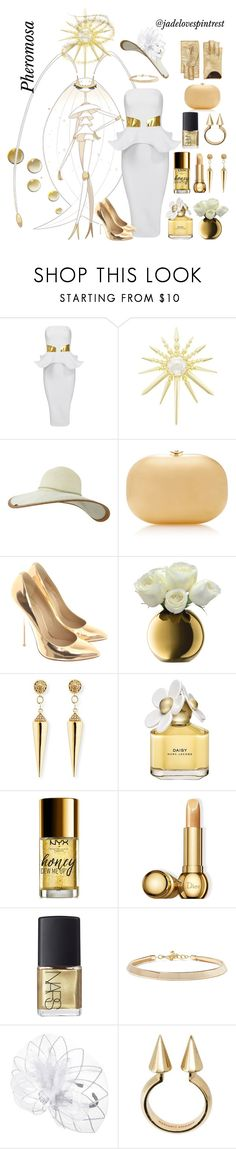 """Pheromosa Style"" by jadelovespintrest ❤ liked on Polyvore featuring Kendra Scott, Keds, Jeffrey Levinson, Giuseppe Zanotti, LSA International, Sydney Evan, Marc Jacobs, NYX, Christian Dior and NARS Cosmetics"