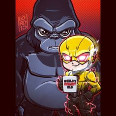 "The Reverse Flash & Grood ""Who's Your Daddy"" by Lord Mesa"