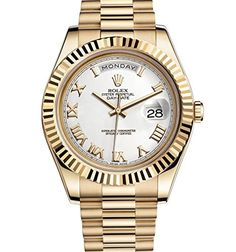 Men's Wrist Watches - Rolex DayDate II 2 President Yellow Gold Watch 218238 *** You can find out more details at the link of the image. (This is an Amazon affiliate link)