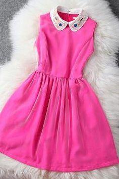 Fashion beaded sleeveless dress VG11901YT
