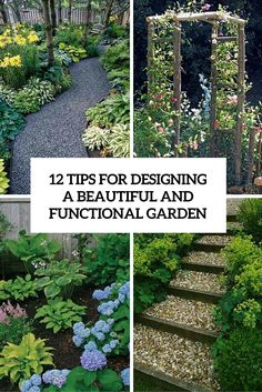12 tips for designing a beautiful and functional garden cover