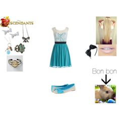 Allison Wonderland-Daughter of Alice (requested) Moon Pool, Themed Outfits, Descendants, Wonderland, Alice, Luxury Fashion, Daughter, Costumes, Summer Dresses