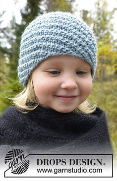 Ravelry: 0-978 Hat with spiral pattern pattern by DROPS design