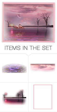"""""""The sunset"""" by irnarenko ❤ liked on Polyvore featuring art"""