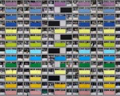 Michael Wolf: 高密度の建築