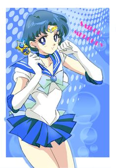 Sailor Mercury, Soldier of water and wisdom, Guardian of love and compassion