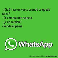 Chistes de WhatsApp: Vascos y catalanes
