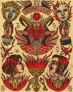 '15-THE DEVIL (SHADOW)' BY SEBASTIAN DOMASCHKE
