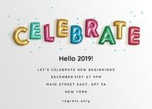 Search result for 'new year' Nye Party, New Years Decorations, New Years Eve Party, Cool Cards, Happy New Year, Free Printables, Festive, Ecards, Balloons