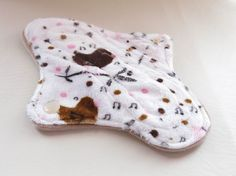 8 Minky Cotton Velour Petite Tweens Teens by MariposasClothPads, $7.50