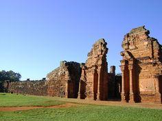 Ruinas San Ignacio, pcia. de Misiones