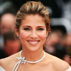 Elsa Pataky, so beautiful... And she's married to Thor. Sometimes life just ain't fair. OTOH, she was dating Adrian Brody. Talk about an UPGRADE!