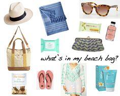 ~what's in my beach bag? favorite items for #summer + #beach #BHGSummer #ModernPalm