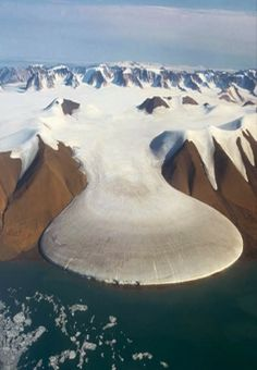Elephant Foot Glacier, Greenland / Love Your Mother <3 http://fantasticmaterials.blogspot.com/2014/02/elephant-foot-glacier-greenland.html