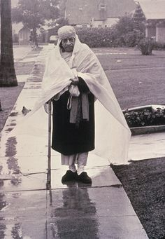 A.C. Bhaktivedanta Swami Prabhupada, who brought the Hare Krishna mantra to the west. On the order of his spiritual master,he arrived in Boston by freight ship, carrying $7 in change and a trunk of books about Krishna. http://www.krishna.com/history-hare-krishna-movement-0
