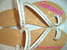 Beauty and the Mist - everything about beauty: Beauty and the Mist Summer Giveaway with Sandals Reminder